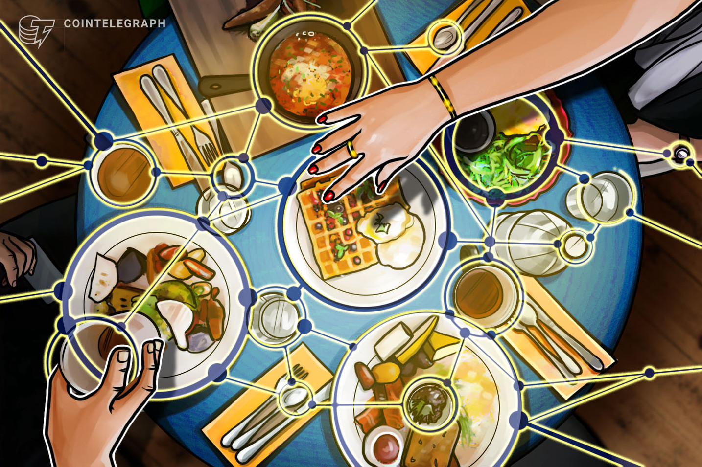 From South Korea to IBM Food Trust - How Blockchain Is Used in the Food Industry