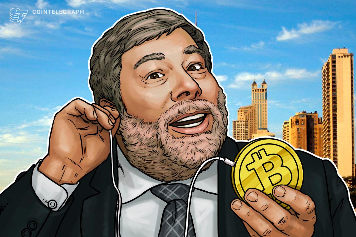 Co-fundador da Apple, Steve Wozniak afirma ter vendido todos os seus Bitcoins quando cotação atingiu US$ 20.000