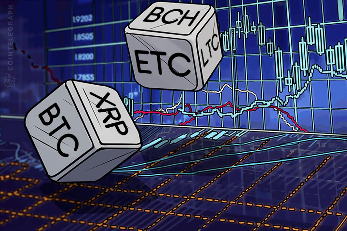 Bitcoin, Ethereum, Bitcoin Cash, Ripple, Litecoin: Análisis de precios, 11 de septiembre