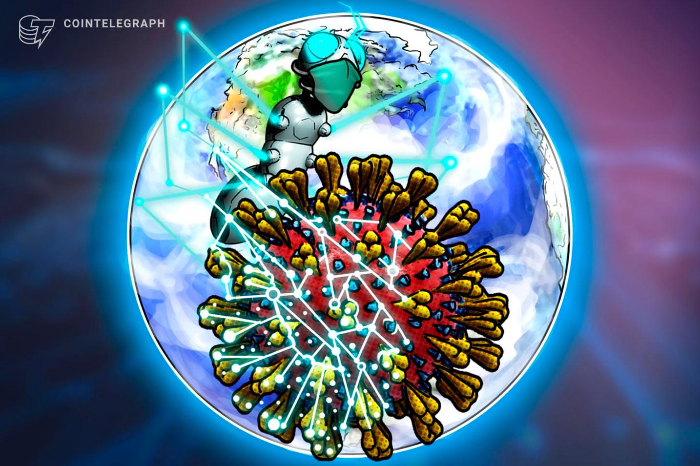 코로나19 확산 방지위해  중국의 블록체인 사용 급증