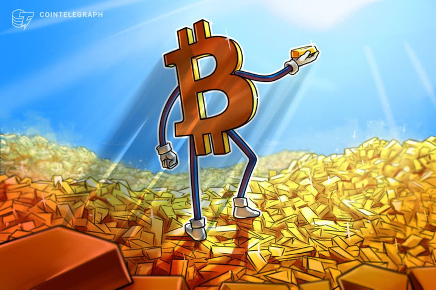 Bitcoin e ouro estão juntos em novo fundo lançado pela brasileira Hashdex