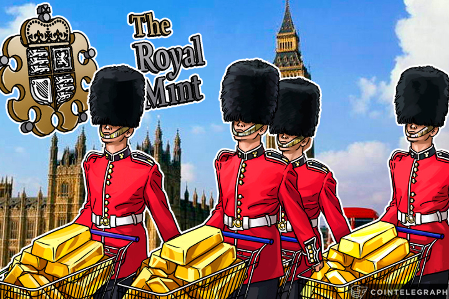 Her Majesty's Royal Mint Launches Gold Trading On Blockchain