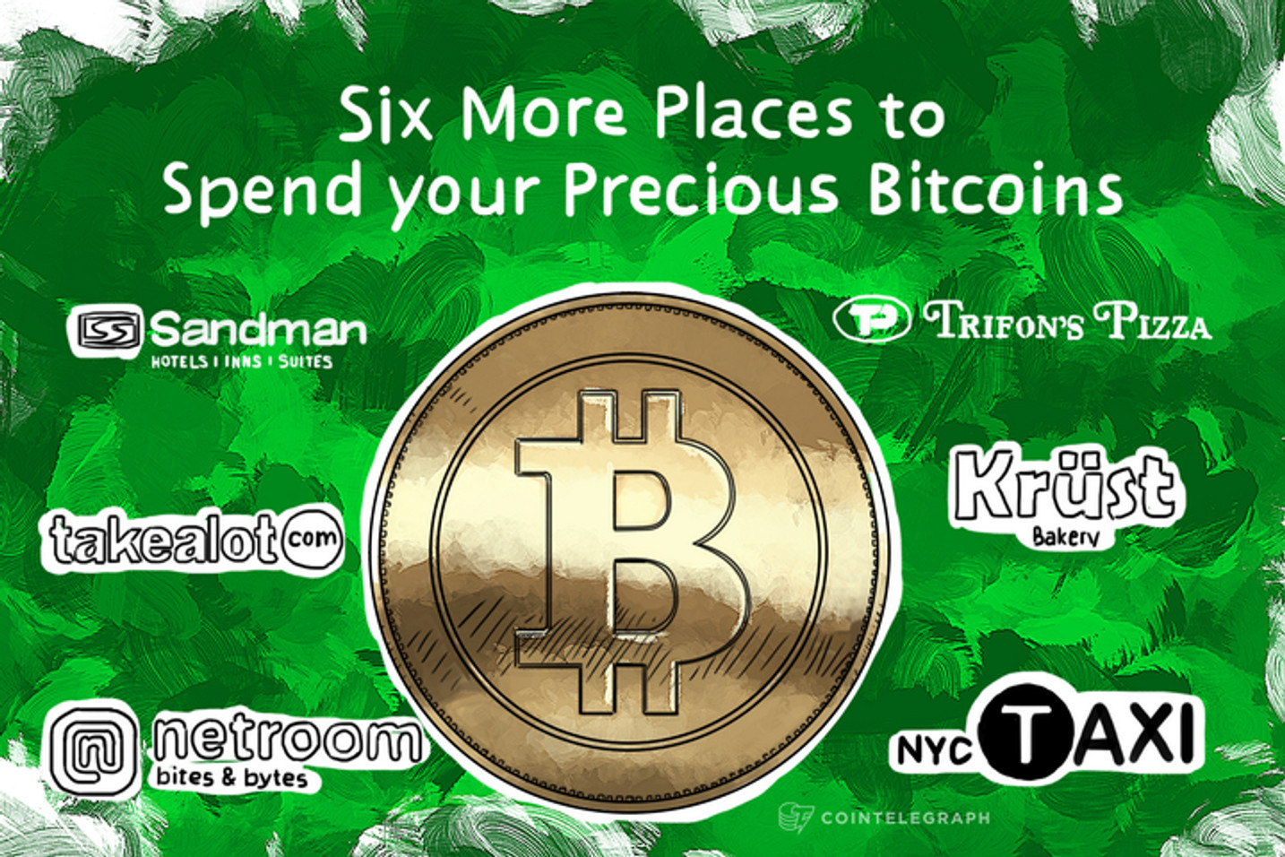 Six More Places to Spend your Precious Bitcoins