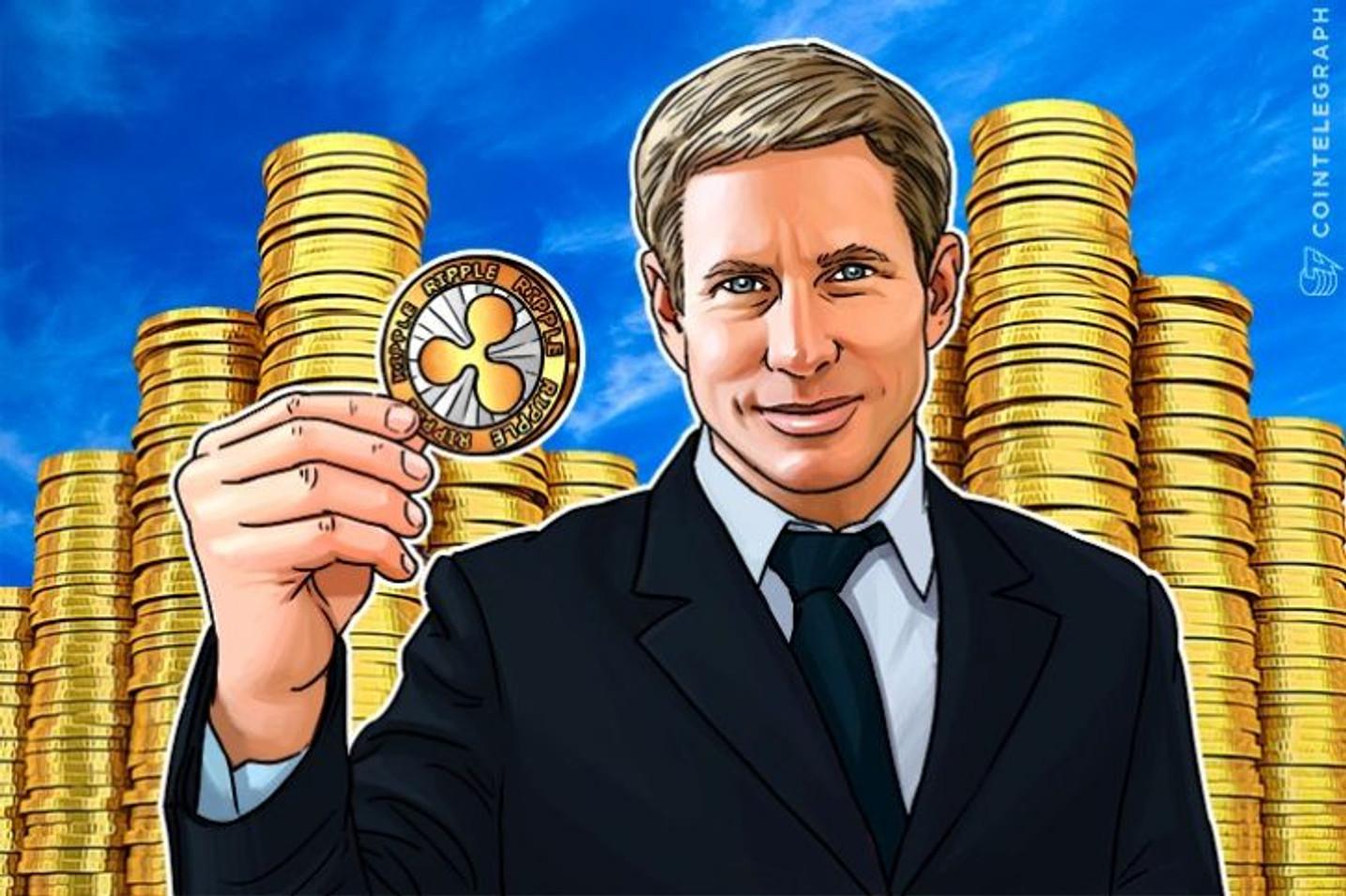 アメリカのブロックチェーン企業Rippleが、大手銀行を含む投資家から5500万ドルの資金調達