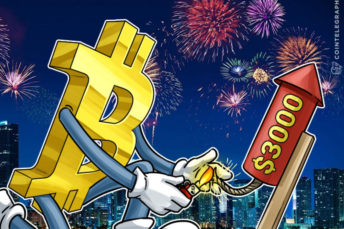 Bitcoin Price is Likely to Surpass $3,000 After SegWit Activation: Opinion