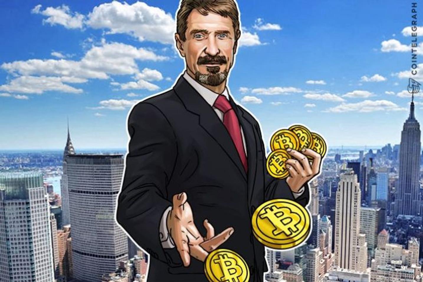 仮想通貨界で「最も影響力がある人物」、ジョン・マカフィー氏に独占インタビュー