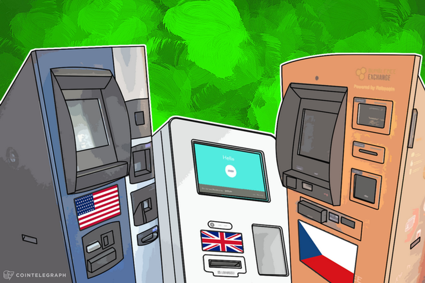 Newly Launched BTMs: The US Gets 7 New Machines