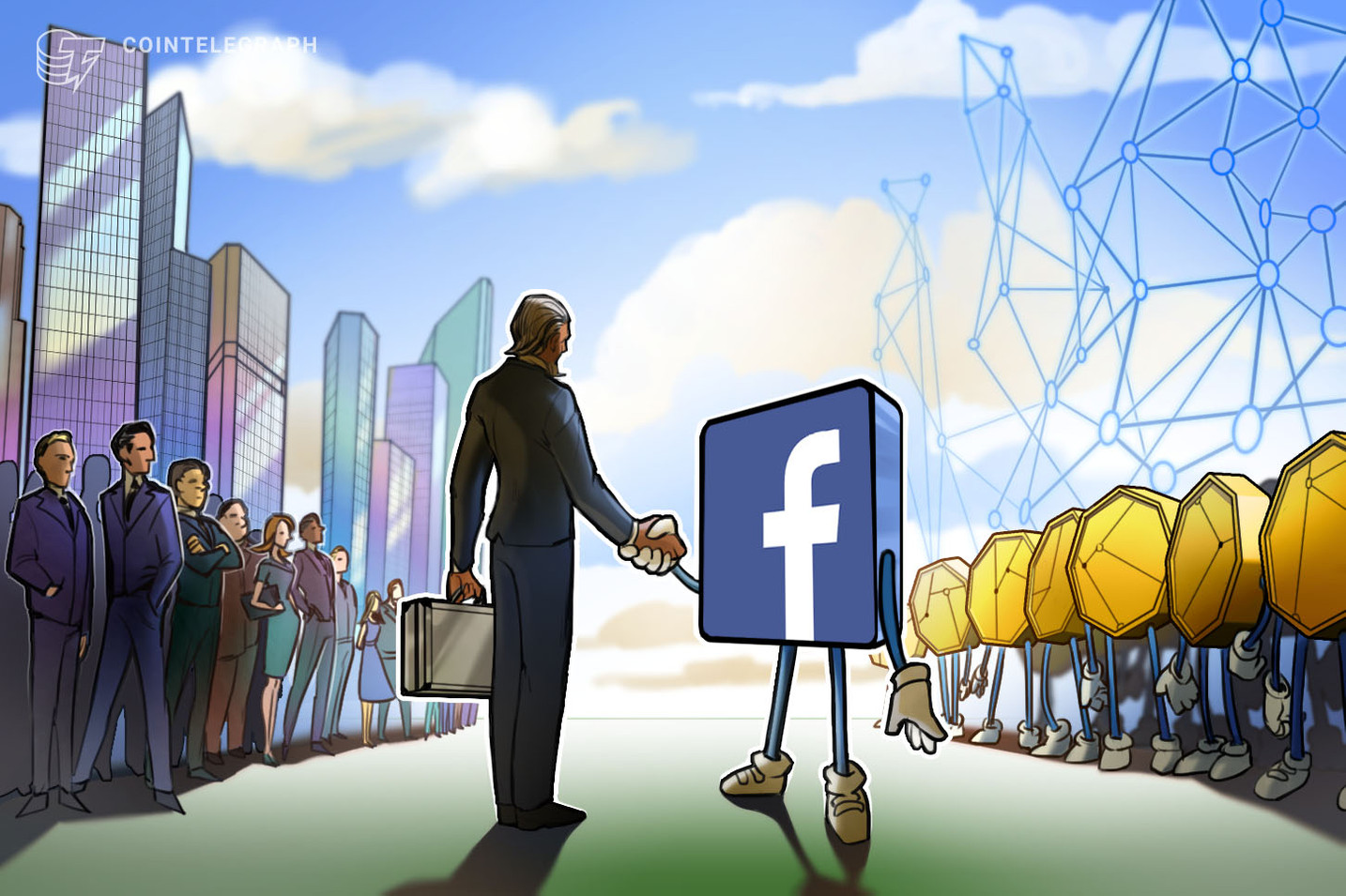 FT: Facebook Hires Standard Chartered Bank's Head of Public Affairs for Crypto Project