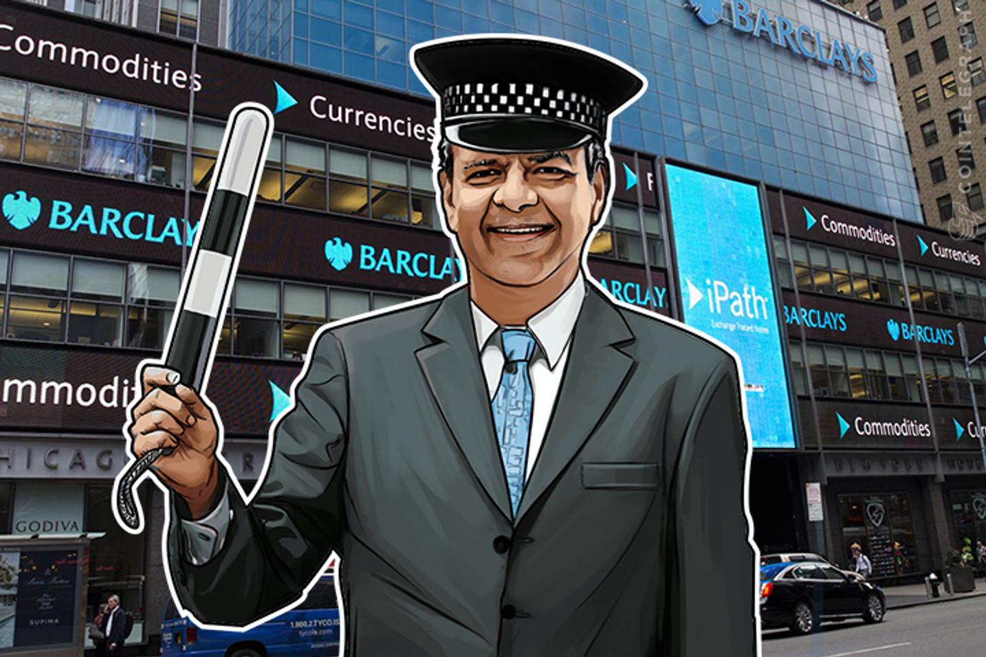 Barclays Fala Com Reguladores Sobre Trazer O Bitcoin E Altcoins Para O Jogo Financeiro