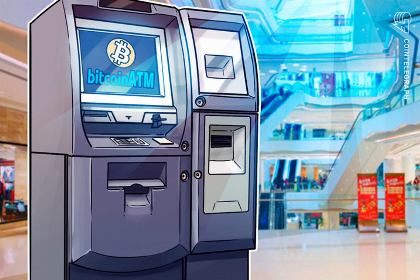 Brasil ganha mais 2 novos caixas eletrônicos de Bitcoin e número no mundo bate recorde de 19 mil ATMs
