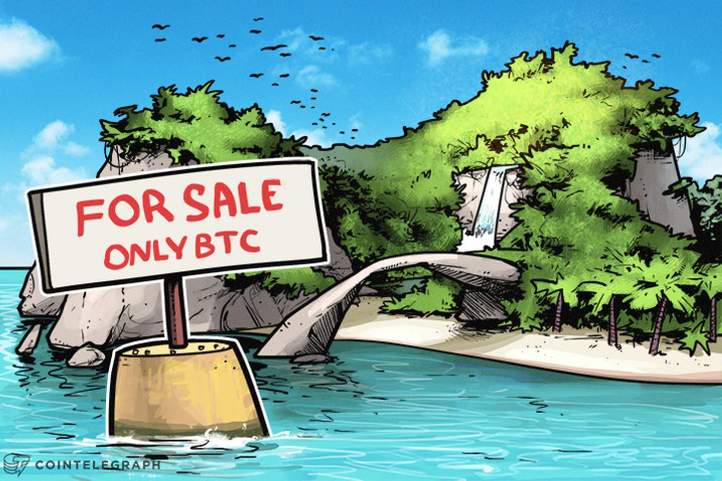 100% Bitcoin: Pequena ilha no Caribe é a primeira comunidade do mundo a aceitar BTC em todos os serviços