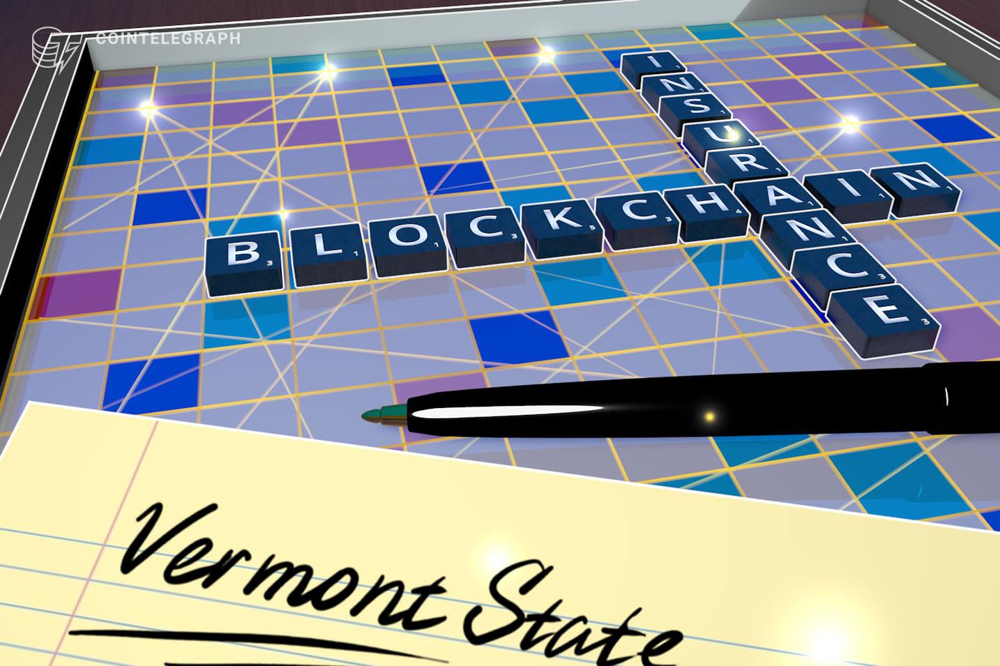 Agencias del estado de Vermont lanzan programa piloto de blockchain para la industria de seguros cautivos