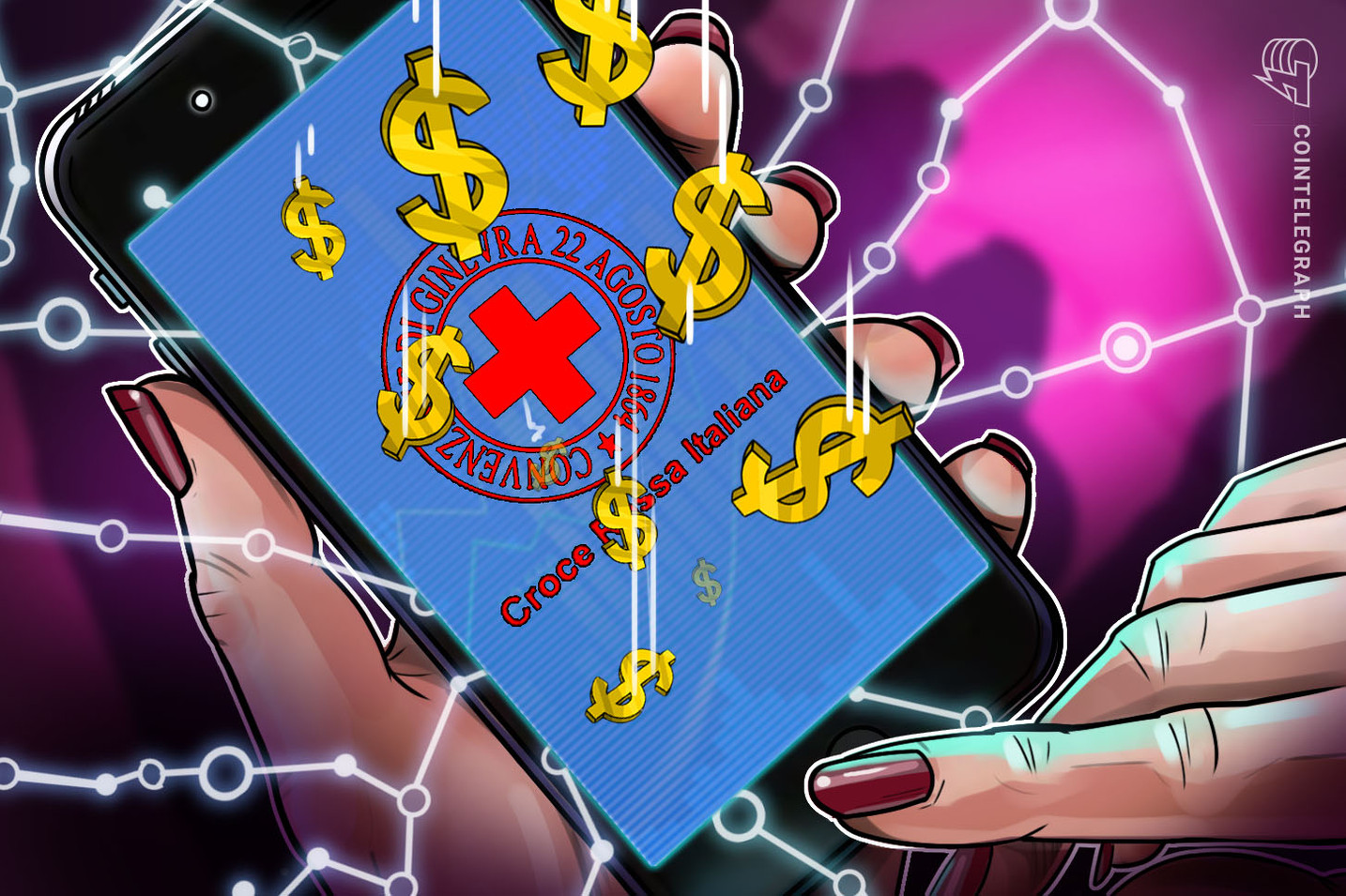 Italian Red Cross Builds COVID-19 Medical Post With Donated Bitcoins
