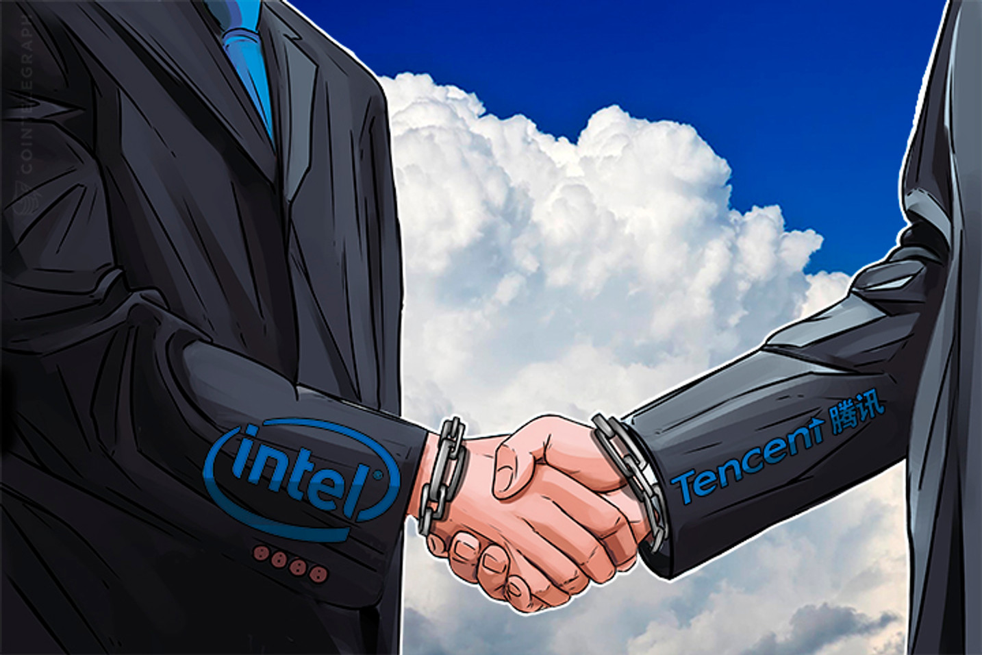 Intel and Tencent Collaborate on Internet of Things Blockchain Solution
