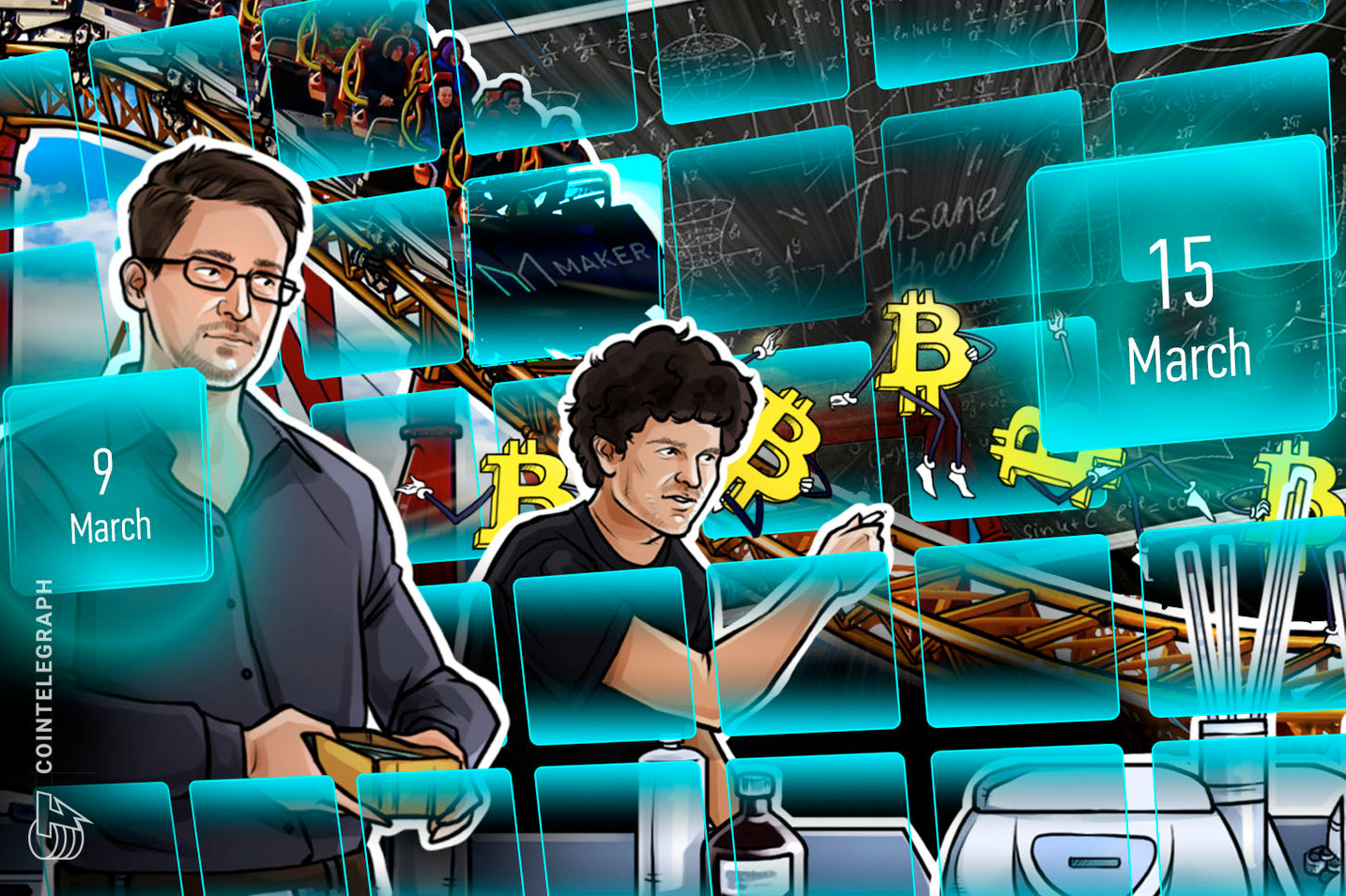 Crypto Carnage, Fears of $1,000 BTC, MakerDAO Crisis: Hodler's Digest, Mar. 9–15