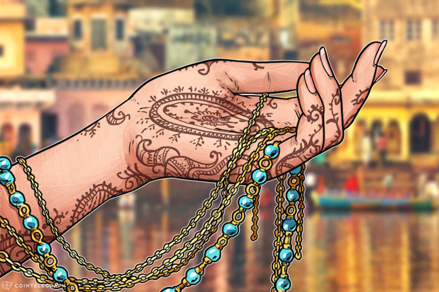Paso hacia la legalización de criptos en India - Nueva fundación Blockchain
