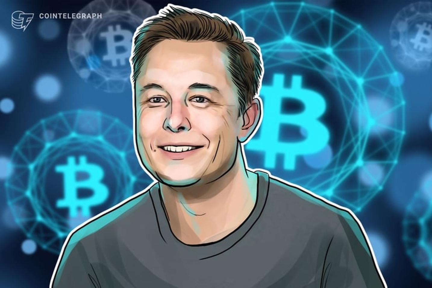 Elon Musk habla sobre Bitcoin en Twitter en polémico post sobre criptomonedas