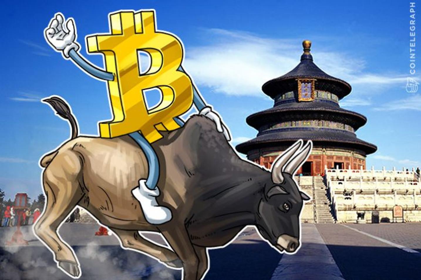 Cena bitkoina na kineskim menjačnicama obara rekord
