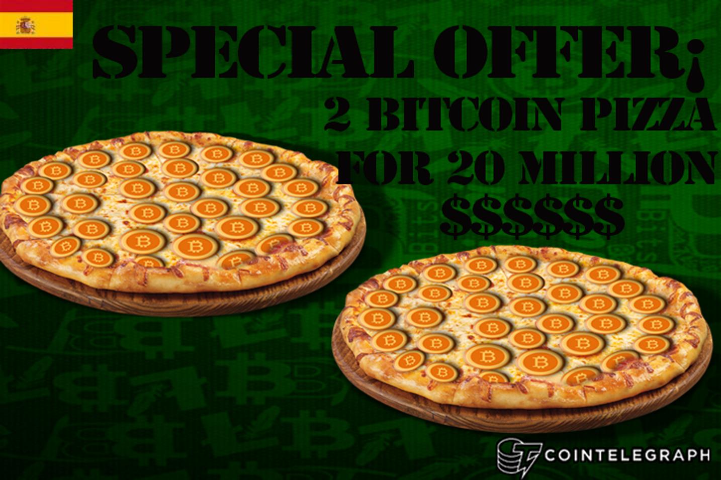 22 de mayo, el bitcoin pizza day