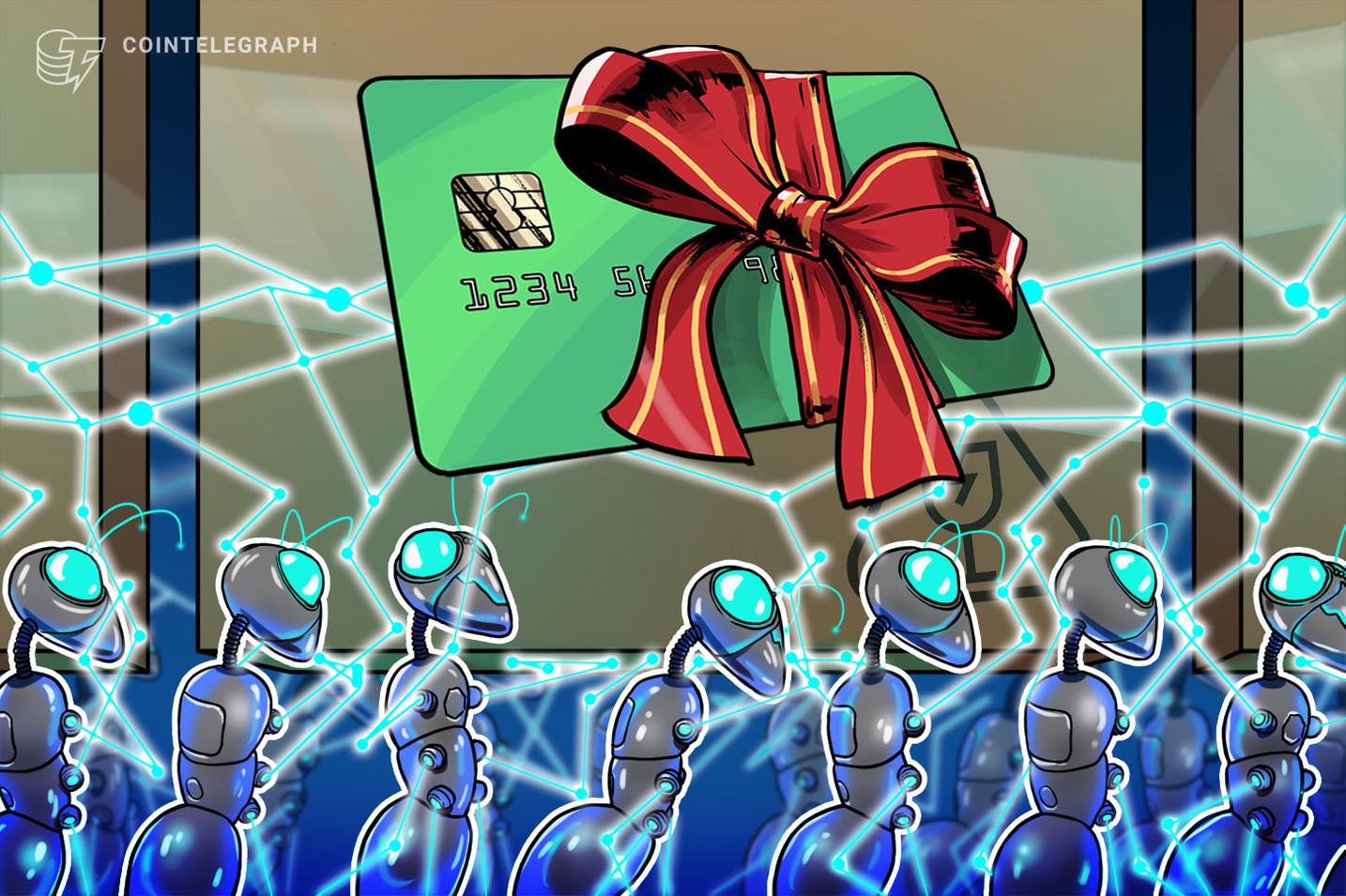 El mercado de tarjetas de regalos más grande de Japón lanza tarjetas blockchain