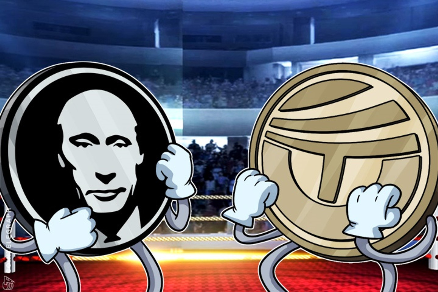 London Scene Round Up: PutinCoin vs. TrumpCoin, Satoshi's Pedicure & More