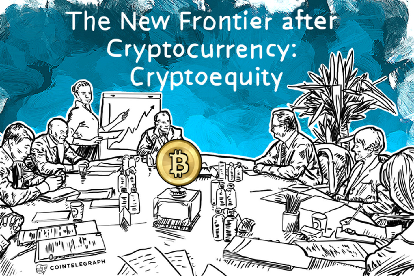 The New Frontier after Cryptocurrency: Cryptoequity