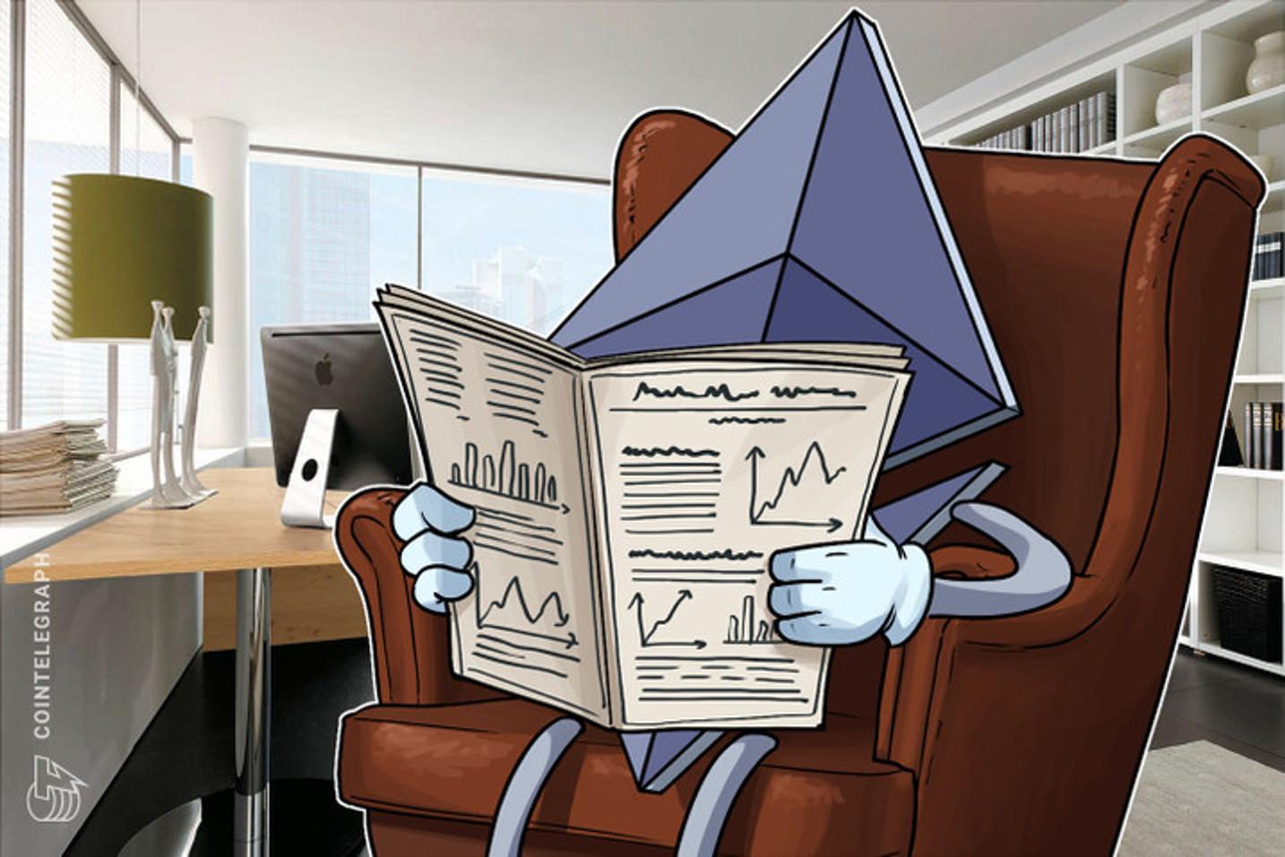Mais da metade de todas as transações na Ethereum valem menos de US$ 20