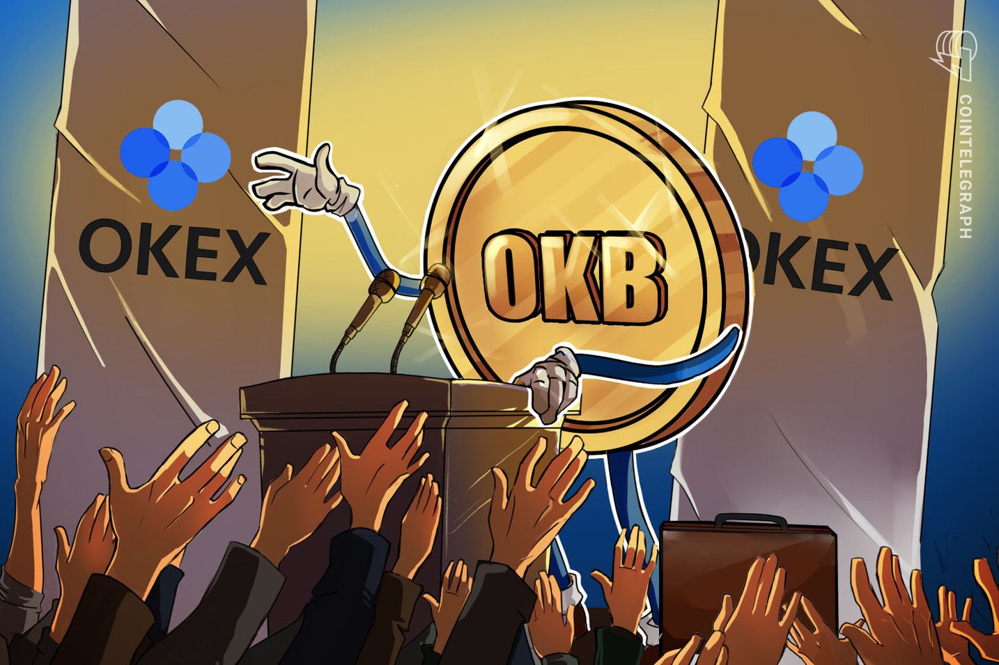 OKEx Secures Support From Four New Partners for Its Utility Token OKB