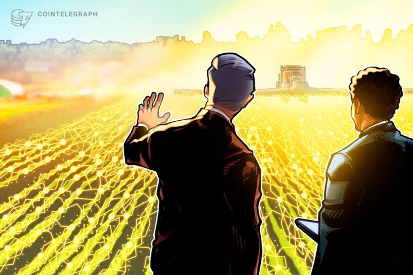 Empresas agrícolas desenvolvem plataforma blockchain para revolucionar operações de commodities