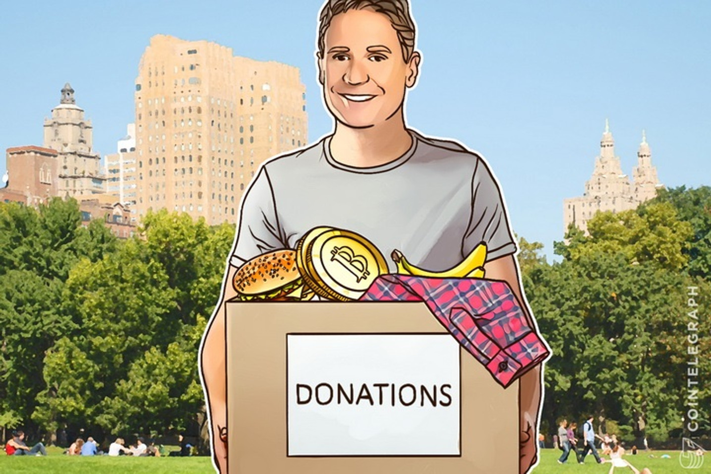 Gary Johnson Wins Libertarian Nomination, Only Major Candidate to Accept Bitcoin Donations