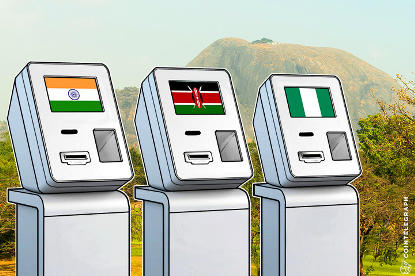 Bitcoin in India, Nigeria, Kenya to Spur Global ATM Market