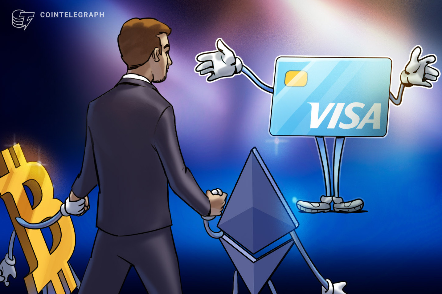 Ödeme Devi Visa'dan Bitcoin Müjdesi