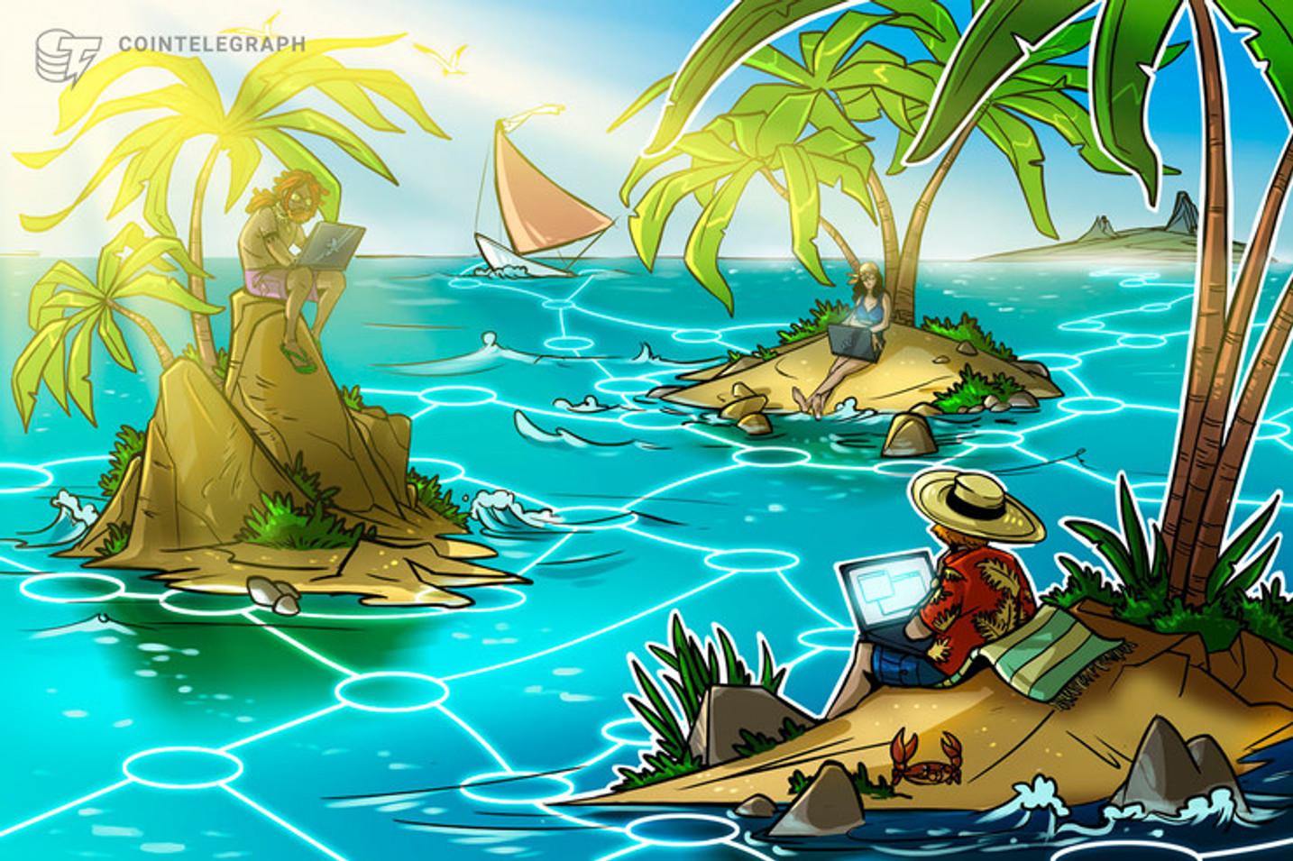Pequena ilha no Caribe vira 'paraíso' de sites de criptomoedas, inteligência artificial e tecnologia