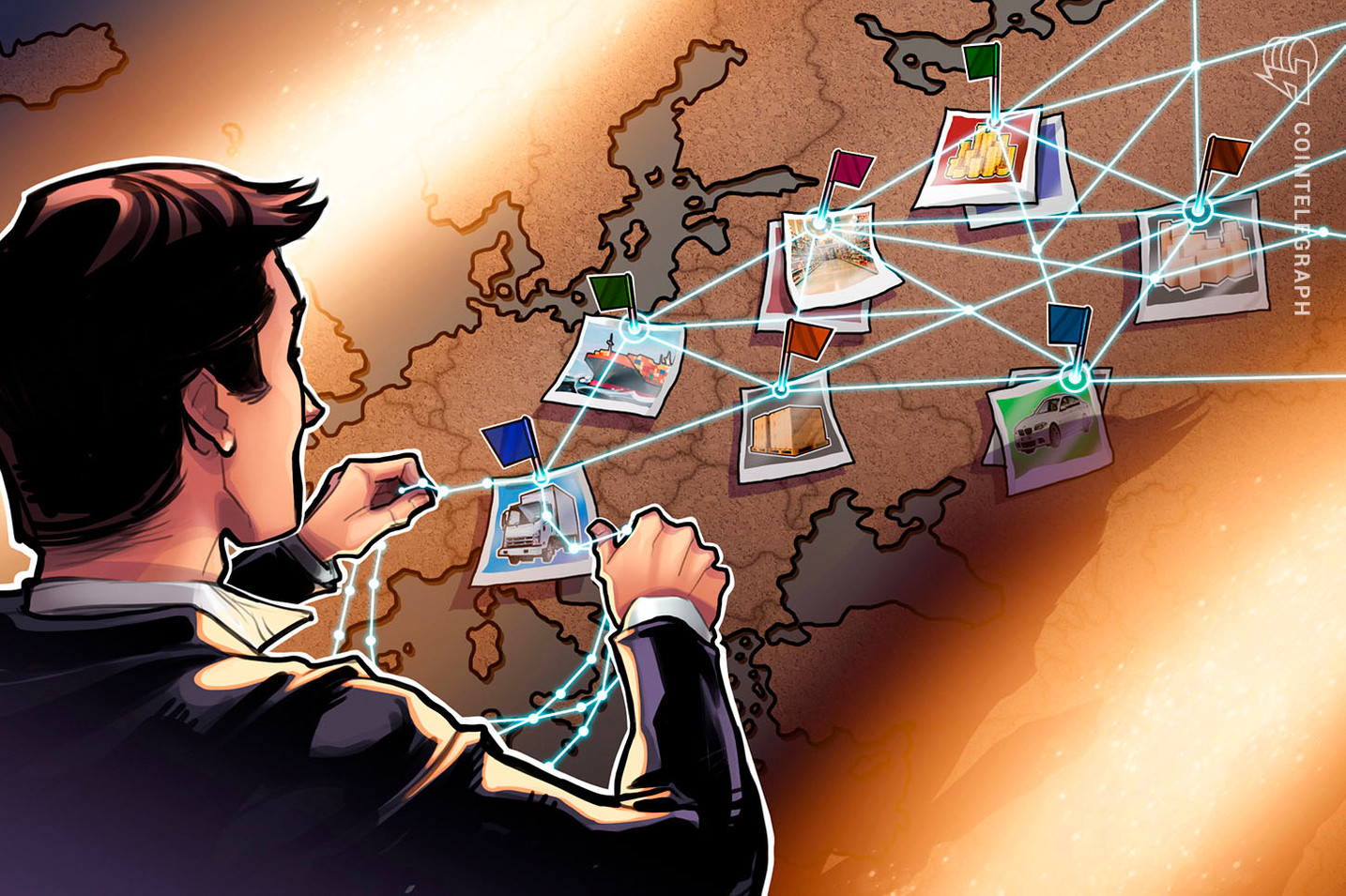 From Pork to Diamonds: How Blockchain Is Making the Logistics Industry Transparent