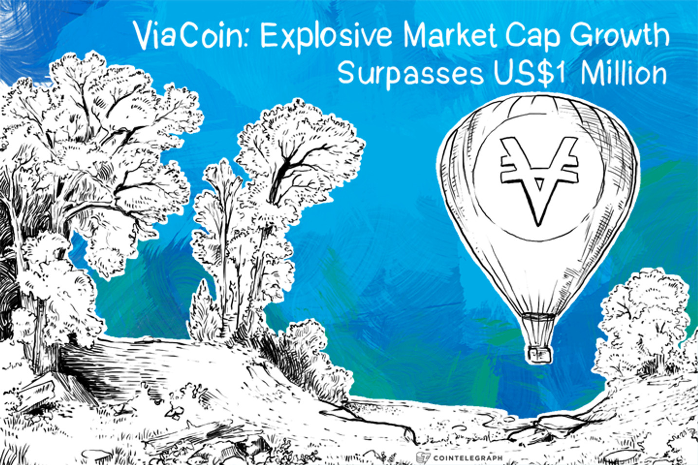 ViaCoin: Explosive Market Cap Growth Surpasses US$1 Million
