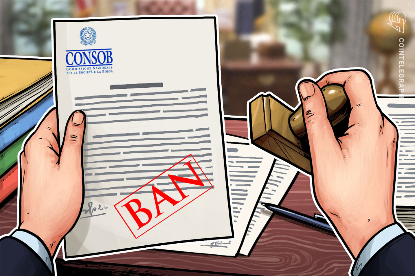 Italian Financial Regulator Issues Cease and Desist Order to Crypto-Related Project