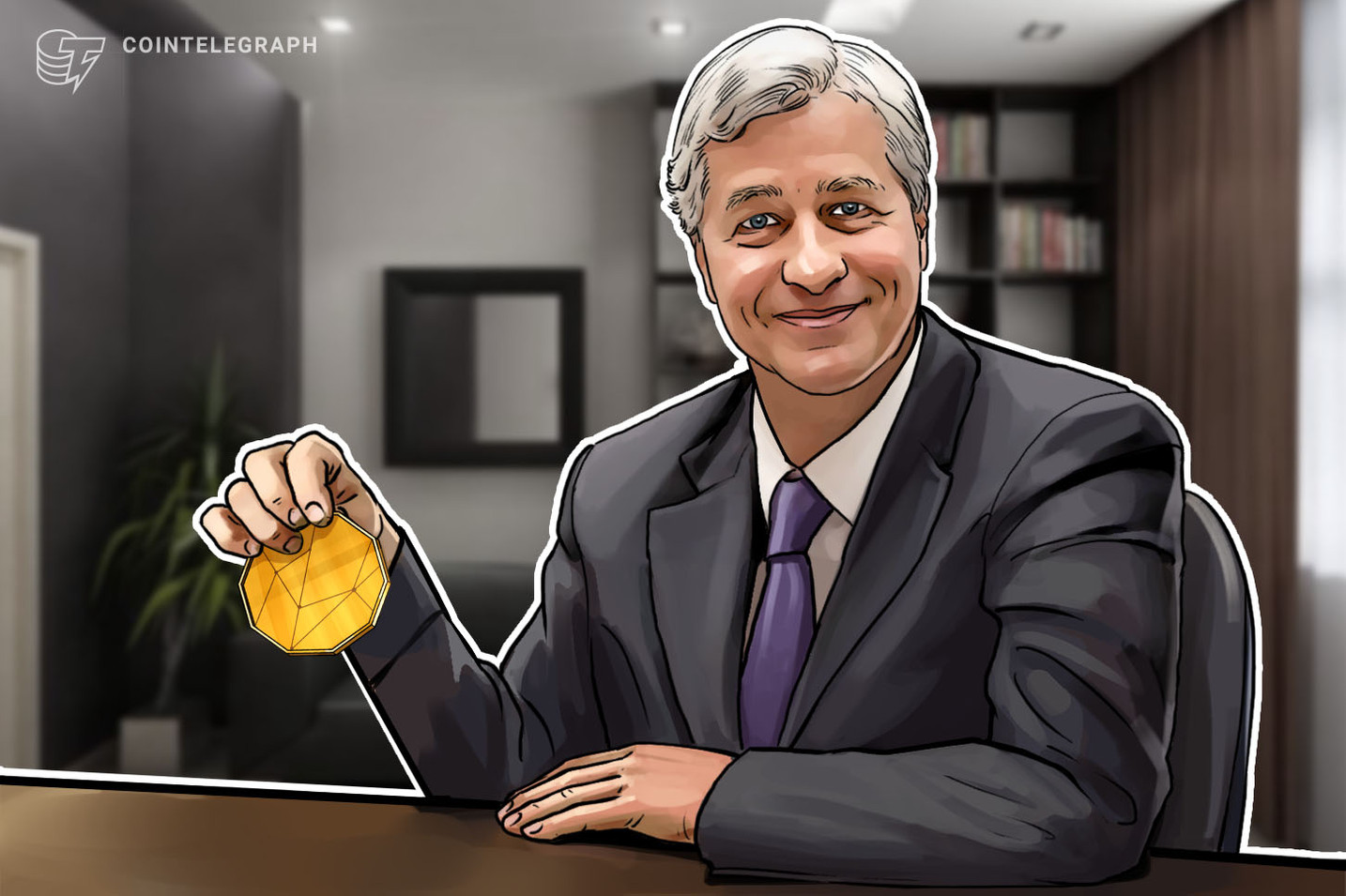 Jamie Dimon Says JPM Coin Could Eventually Find Consumer Use