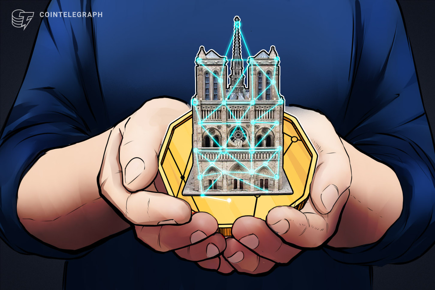 Ministro de gobierno francés abierto a permitir donaciones en criptomonedas para Notre Dame