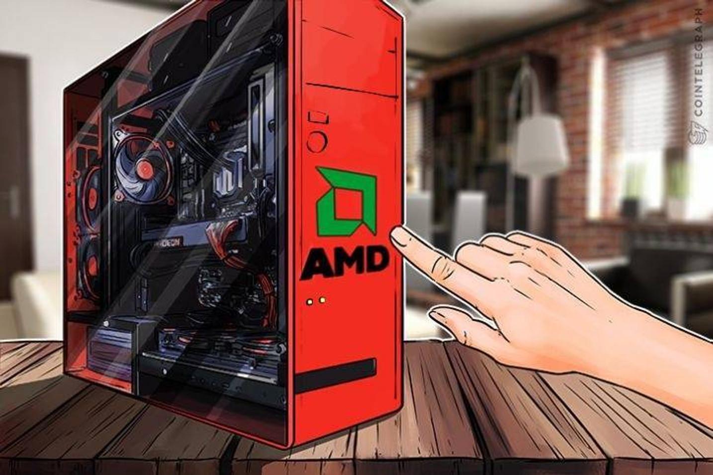 AMD: 'Blockchain-Related GPU Sales in Third Quarter Were Negligible'