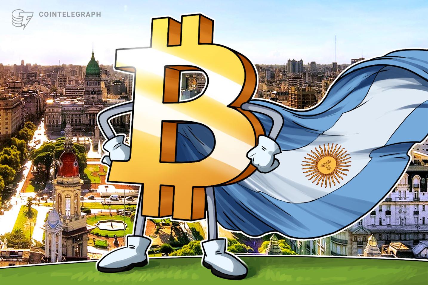 Mercado de ações da Argentina despenca e analistas esperam subida no volume de negociações de Bitcoin no país