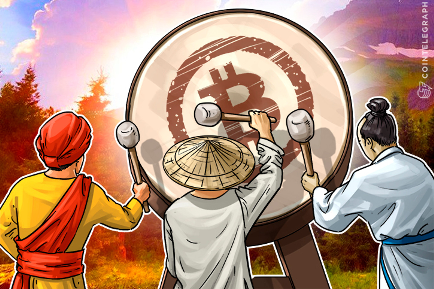 The Big Three: How China, India, Japan Set Pace For Bitcoin