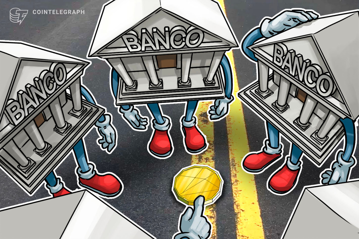 Santander e Itaú procuram R$ 5,6 milhões em Bitcoin em exchanges brasileiras para quitar dívidas de empresas
