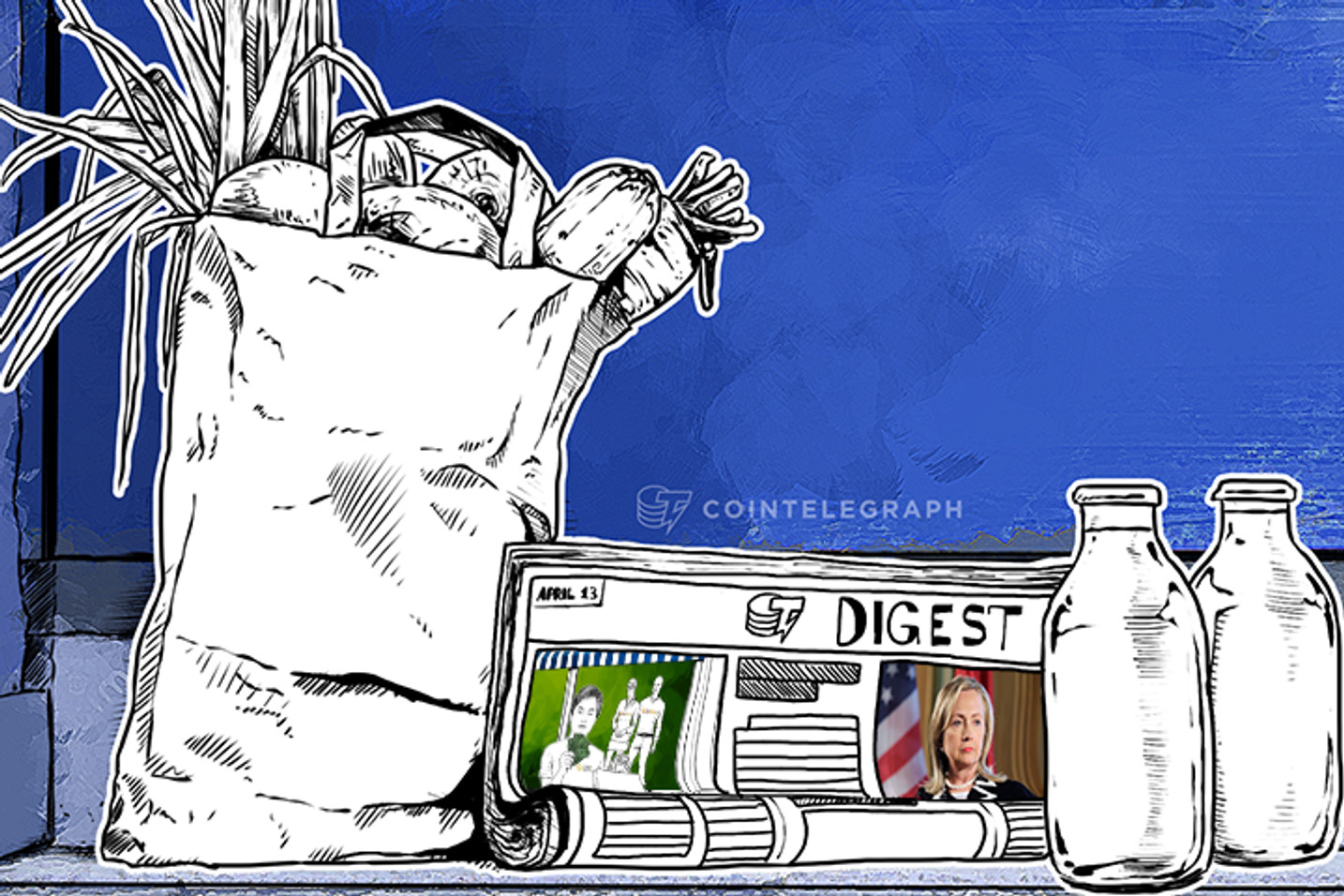 APR 13 DIGEST: Hillary Clinton Doesn't Want Bitcoins, BTCGAW.com Reported to FBI