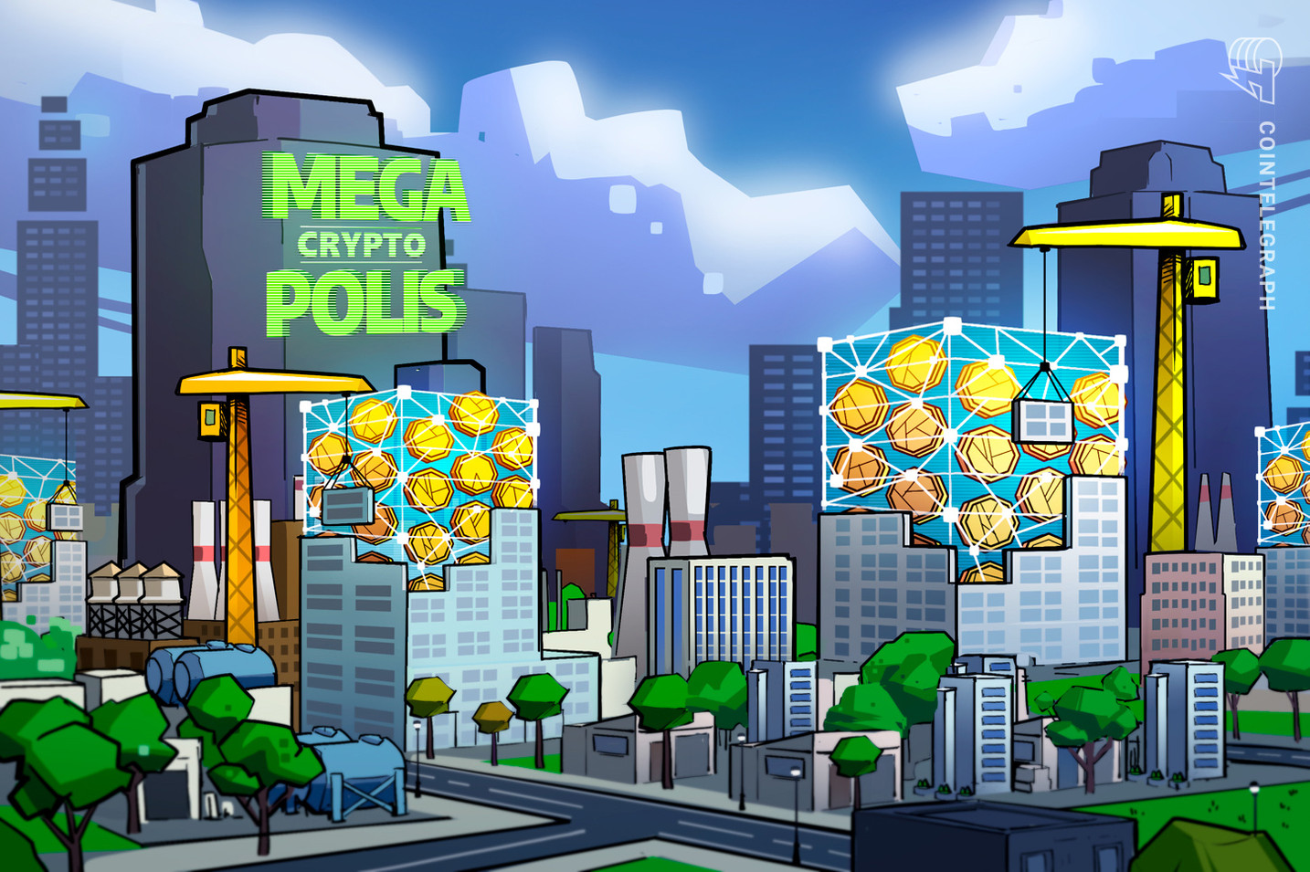 NFTs at the heart of major upgrade for decentralized virtual city