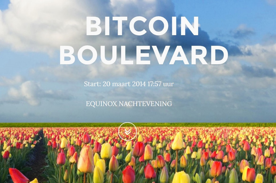 Bitcoin Boulevard Will Welcome Spring in Hague
