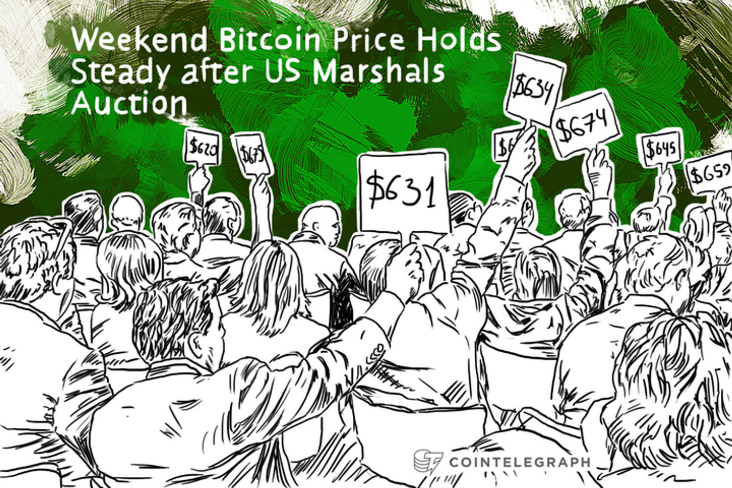 Weekend Bitcoin Price Holds Steady after US Marshals Auction