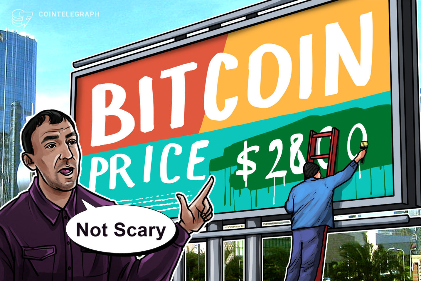 Bitcoin Price Hitting $2.8K 'Not Scary' Before May Halving — Tone Vays