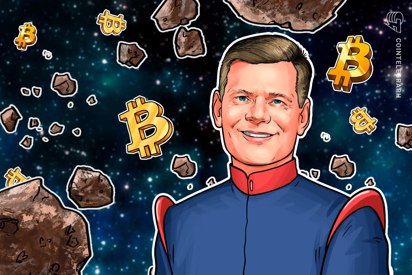 When to Sell Bitcoin? 'Never' — Mark Yusko Says BTC Like Amazon Stock