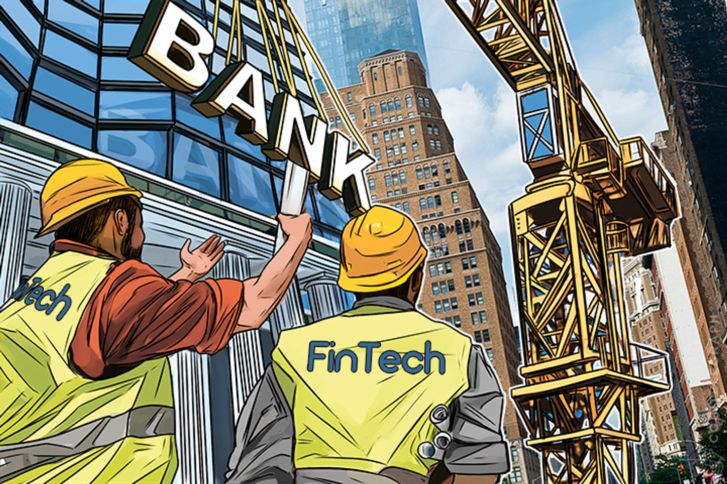 Fintech Companies Disrupting Finance, Creating Bank of Tomorrow
