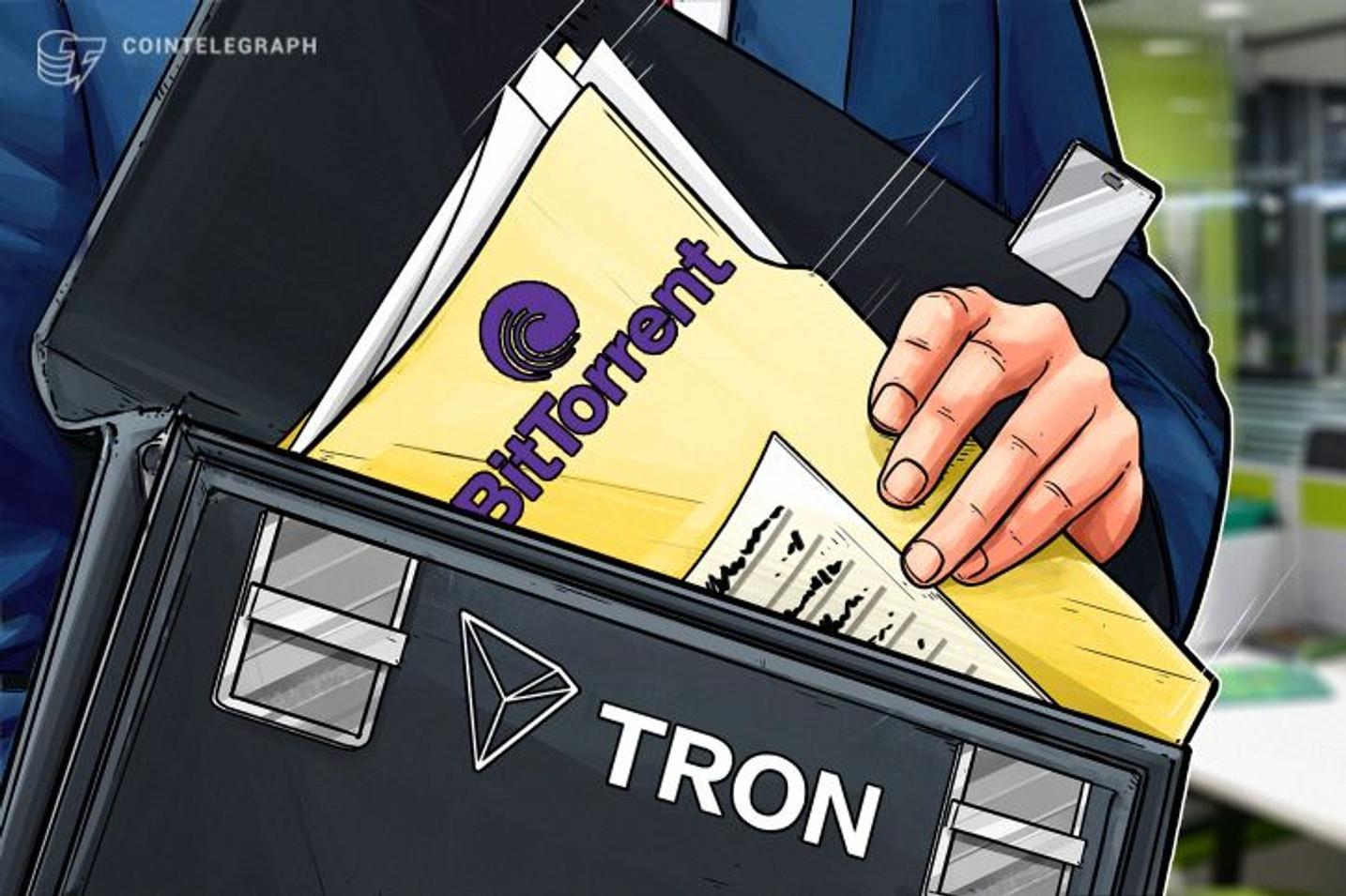 Il fondatore della piattaforma TRON ha acquistato BitTorrent, rivelano alcune fonti anonime